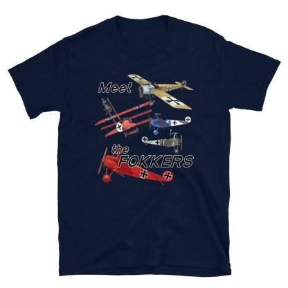 airplaneTees Meet the Fokkers Tee... Short-Sleeve Unisex 7