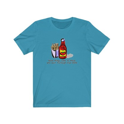 airplaneTees Heinz ketchup Good things come to those who wait tee... Unisex Jersey Short Sleeve 8