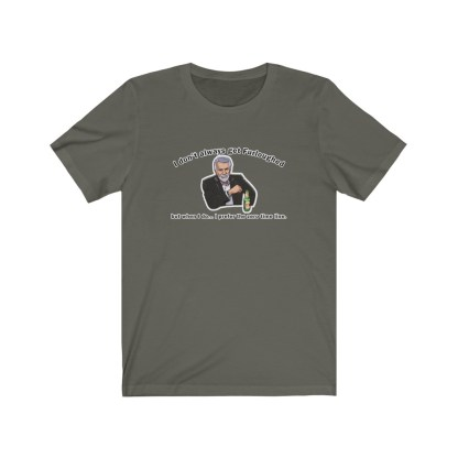 airplaneTees I don't always get furloughed tee... Unisex Jersey Short Sleeve 5