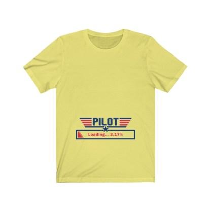 airplaneTees Preggo Pilot Tee... Unisex Jersey Short Sleeve 6