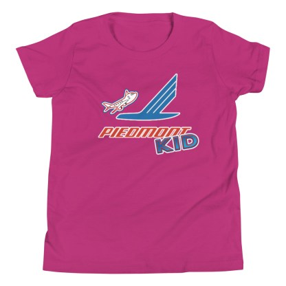 airplaneTees Piedmont Kid Youth Tee... Short Sleeve 13