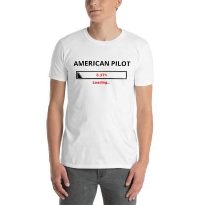 airplaneTees Custom American Pilot Loading Tee... Short-Sleeve Unisex 3