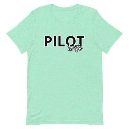 airplaneTees Custom Pilot Wife Tee... Short-Sleeve Unisex 13