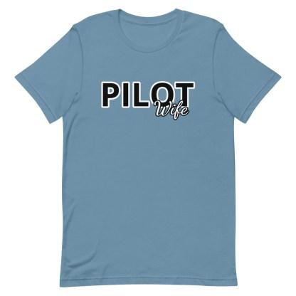 airplaneTees Custom Pilot Wife Tee... Short-Sleeve Unisex 9