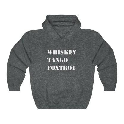airplaneTees WTF Whiskey Tango Foxtrot Hoodie - Heavy Blend™ Hooded Sweatshirt 8