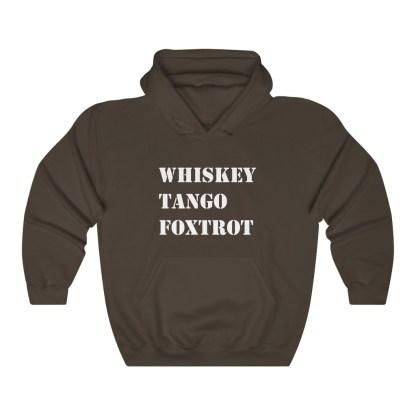 airplaneTees WTF Whiskey Tango Foxtrot Hoodie - Heavy Blend™ Hooded Sweatshirt 5
