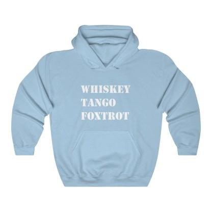 airplaneTees WTF Whiskey Tango Foxtrot Hoodie - Heavy Blend™ Hooded Sweatshirt 9