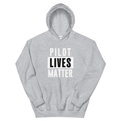 airplaneTees Pilot lives matter Hoodie - Unisex 8
