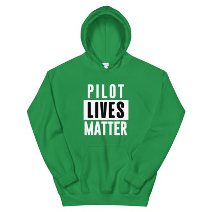 airplaneTees Pilot lives matter Hoodie - Unisex 6