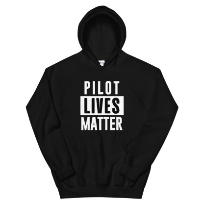 airplaneTees Pilot lives matter Hoodie - Unisex 2