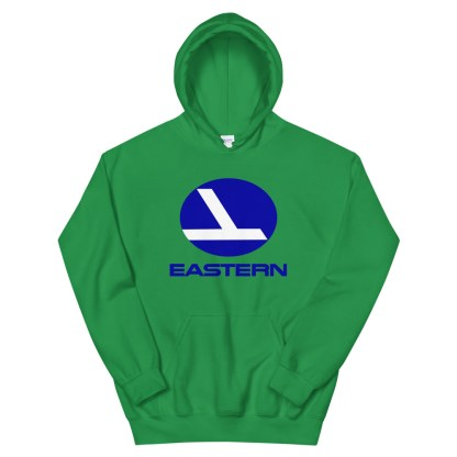 airplaneTees Eastern Airlines Logo Hoodie - Unisex 9