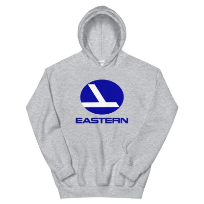 airplaneTees Eastern Airlines Logo Hoodie - Unisex 11