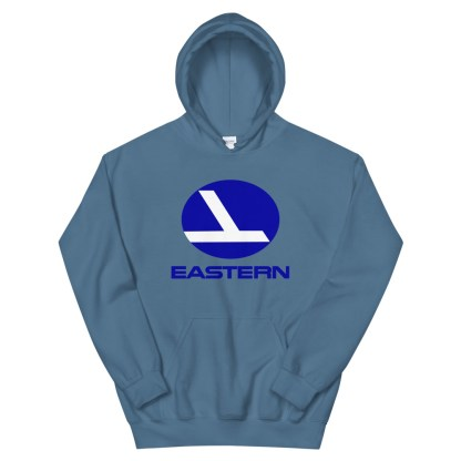 airplaneTees Eastern Airlines Logo Hoodie - Unisex 10