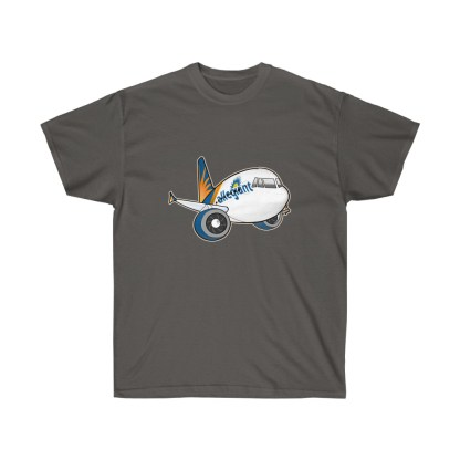 airplaneTees Allegiant Air Airbus Tee - Unisex Ultra Cotton - A321 4