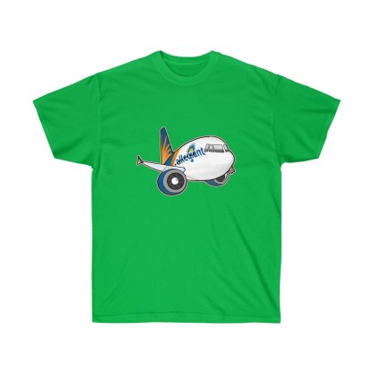 airplaneTees Allegiant Air Airbus Tee - Unisex Ultra Cotton - A321 6