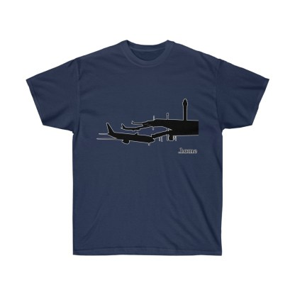 airplaneTees Airport is Home Tee - Unisex Ultra Cotton 5