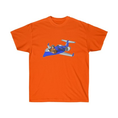 airplaneTees Deuce Canoe Tee CRJ200 - Unisex Ultra Cotton 6