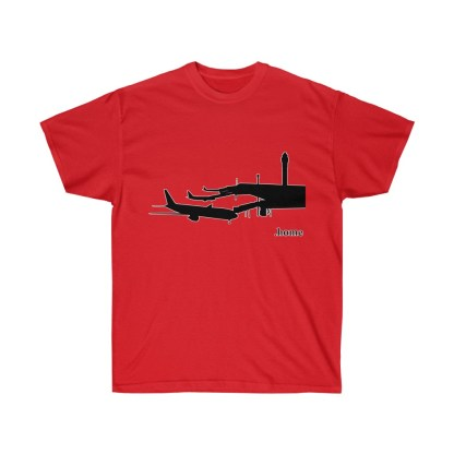 airplaneTees Airport is Home Tee - Unisex Ultra Cotton 1