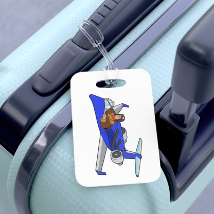 airplaneTees CRJ200 Deuce Canoe Bag Tag 3