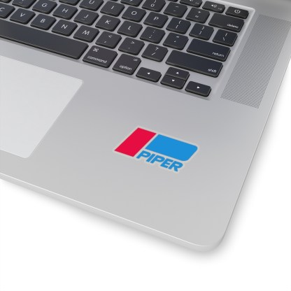 airplaneTees Piper Aircraft Logo Stickers - Kiss-Cut 4