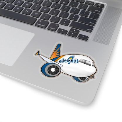 airplaneTees Allegiant Air Airbus Stickers - Kiss-Cut A321 12