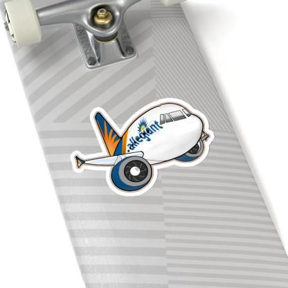 airplaneTees Allegiant Air Airbus Stickers - Kiss-Cut A321 16