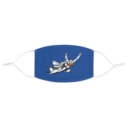 airplaneTees SuperPlane Face Mask - Fabric 2