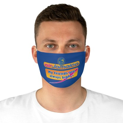 airplaneTees Air Jamaica Face Mask - Fabric, Spoof 4