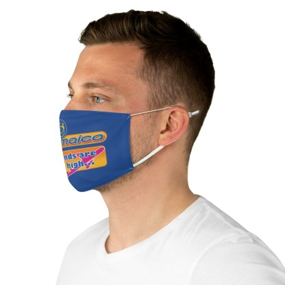 airplaneTees Air Jamaica Face Mask - Fabric, Spoof 5