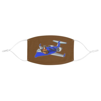 airplaneTees Deuce Canoe Face Mask - Fabric 2