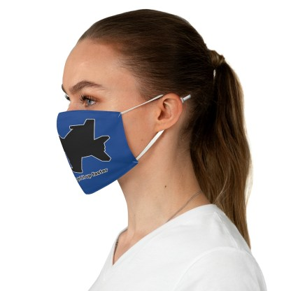 airplaneTees Fighter pilots get it up faster Face Mask - Fabric 3