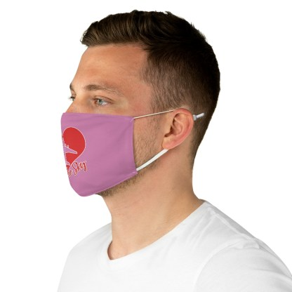 airplaneTees Kiss the Sky Face Mask - Fabric 5