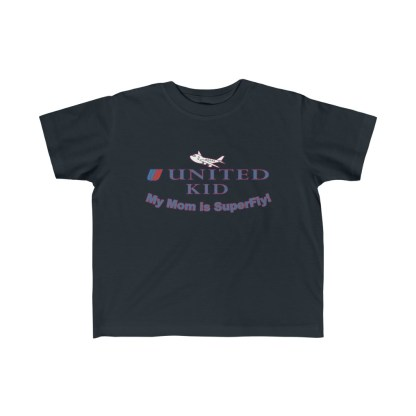 airplaneTees United Mom is Superfly Tee - Kid's Fine Jersey 4