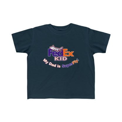 airplaneTees Fedex Dad is Superfly tee - Kid's Fine Jersey 5