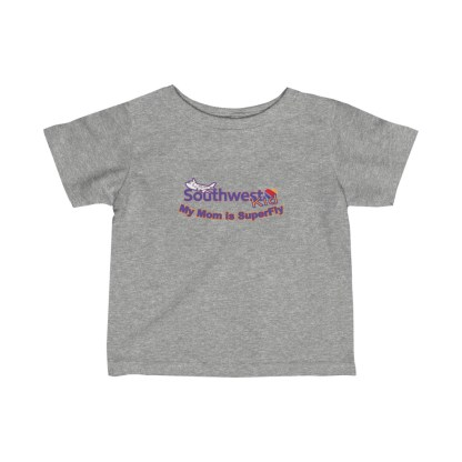 airplaneTees Southwest Mom is Superfly tee - Infant Fine Jersey 1