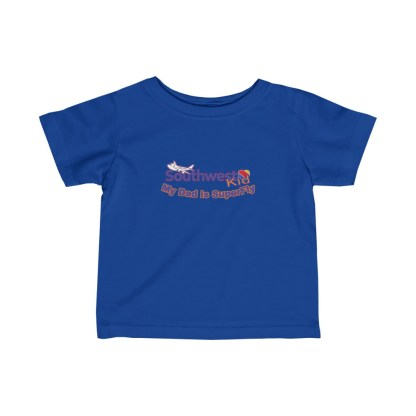 airplaneTees Southwest Dad is Superfly Tee - Infant Fine Jersey 3