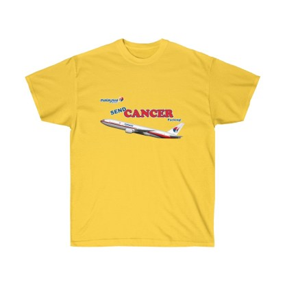 airplaneTees Send Cancer Packing Tee - Unisex Ultra Cotton - F Cancer 4