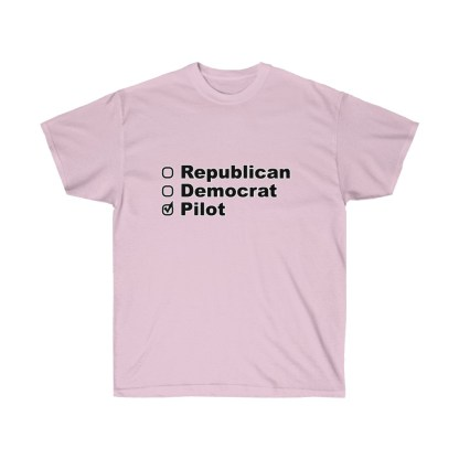 airplaneTees Political Pilot Tee - Unisex Ultra Cotton tshirt 10