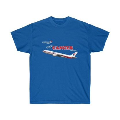 airplaneTees Send Cancer Packing Tee - Unisex Ultra Cotton - F Cancer 7