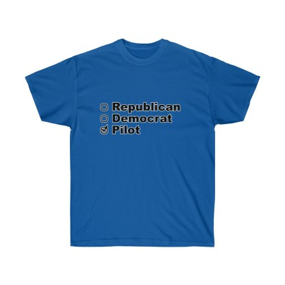 airplaneTees Political Pilot Tee - Unisex Ultra Cotton tshirt 6