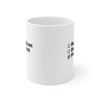airplaneTees Political Pilot Coffee Mug - Ceramic 11oz 2