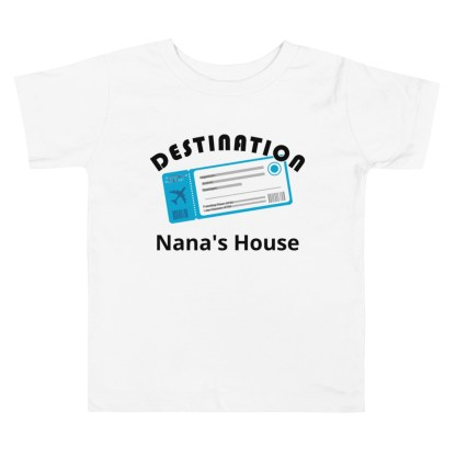 airplaneTees Custom Destination Nanas House - Toddler Short Sleeve Tee 4