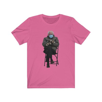 airplaneTees Bernie Sanders In Parka and Mittens Tee - Unisex Jersey Short Sleeve 14