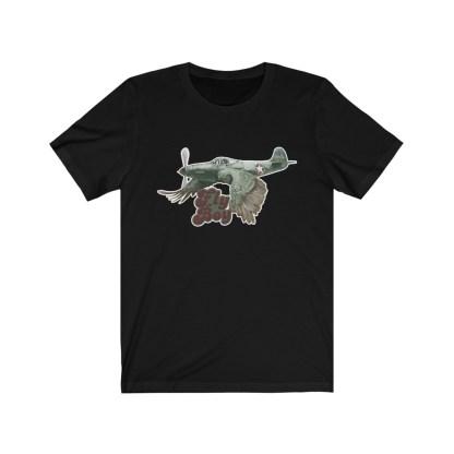 airplaneTees Fly Boy Warbird Tee - Unisex Jersey Short Sleeve 3