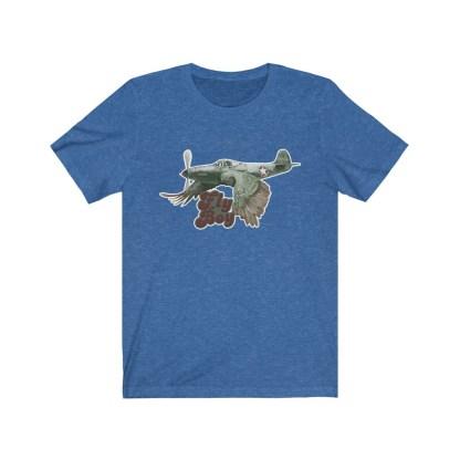 airplaneTees Fly Boy Warbird Tee - Unisex Jersey Short Sleeve 9