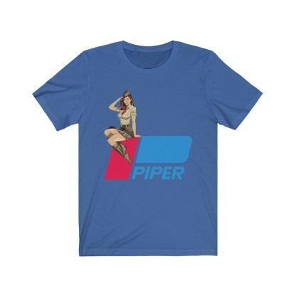 airplaneTees Pinup Piper Tee - Unisex Jersey Short Sleeve Tee 7