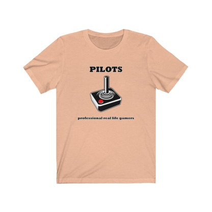 airplaneTees Pilots Professional Real Life Gamers Tee - Unisex Jersey Short Sleeve 4