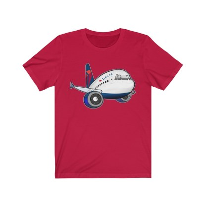 airplaneTees Delta Airbus Tee – Unisex Jersey Short Sleeve 14