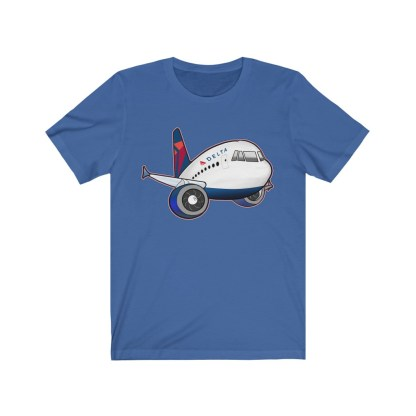 airplaneTees Delta Airbus Tee – Unisex Jersey Short Sleeve 8