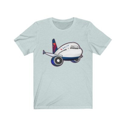airplaneTees Delta Airbus Tee – Unisex Jersey Short Sleeve 6
